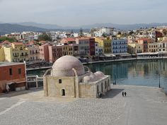 #CHANIA CRETE #GREECE  OLD HARBOR