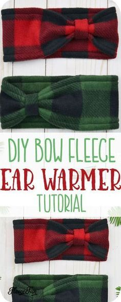 Make This Cute Fleece Ear Warmer Headband Diy With Bow ; machen sie dieses niedliche fleece-ohrwärmer-stirnband diy mit schleife Make This Cute Fleece Ear Warmer Headband Diy With Bow ; Fleece Projects, Easy Sewing Projects, Sewing Projects For Beginners, Sewing Hacks, Sewing Tutorials, Sewing Crafts, Sewing Tips, Diy Projects, Sewing Ideas