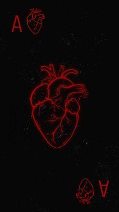 Heart Card IPhone Wallpaper - IPhone Wallpapers