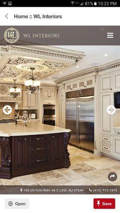 Mediterranean homes – Mediterranean Home Decor Elegant Kitchens, Luxury Kitchens, Beautiful Kitchens, Home Kitchens, Tuscan Kitchens, Home Decor Kitchen, Kitchen Interior, Home Interior Design, Kitchen Ideas