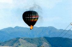 A scenic hot air balloon flight from Carterton, New Zealand, collided with a high-voltage power line while attempting to land, causing it to catch fire, disintegrate and crash, killing all eleven people (ten passengers and the pilot) on board, on 7 January 2012. It was concluded that the pilot made an error of judgment and toxicology analysis of the pilot tested positive for cannabis.