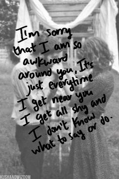 Exactly how I feel around my love! <3