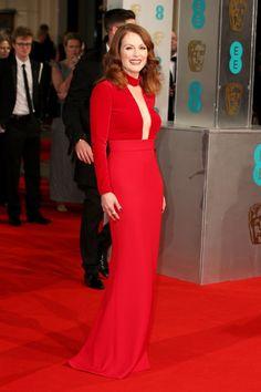 Julianne Moore in Tom Ford - BAFTAs 2015