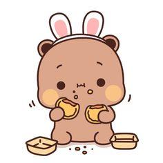 Cute Bunny Cartoon, Cute Cartoon Images, Cute Kawaii Animals, Cute Couple Cartoon, Cute Cartoon Wallpapers, Cute Images, Cute Bear Drawings, Cute Kawaii Drawings, Chibi Cat