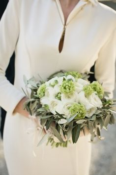 Olive and Ranunculus Bouquet