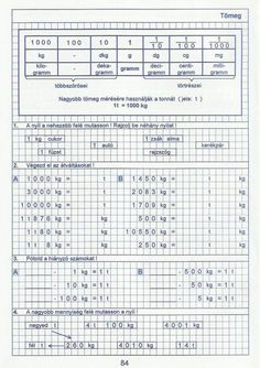 Gyere mesélj! - Képgaléria - Sulis feladat lapok (alsó tagozat) - Kiszámoló 4. osztály Fa, Excercise, Periodic Table, School, Kids, Deko, Periotic Table, Children, Ejercicio