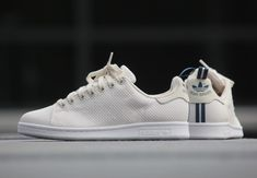 Adidas Originals Stan Smith CK Shoe White Source by julienhausherr Sneakers For Sale, White Sneakers, Adidas Sneakers, Work Sneakers, Lacoste Sneakers, Discount Sneakers, Running Sneakers, Running Shoes For Men, Mens Running