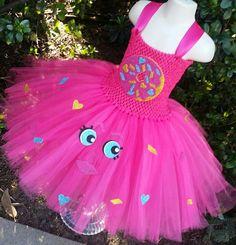 Customizable D'lish Donut Tutu Dress Shopkins Inspired