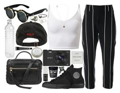 """""""my hips missed your hips"""" by velvet-ears ❤ liked on Polyvore featuring Brunello Cucinelli, Converse, Ralph Lauren, Sony, Kooba, Byredo, Korres, CB2, David Jones and NOVICA"""
