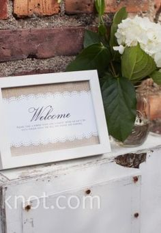 Stylish Signs- Welcome
