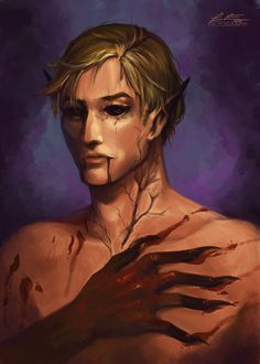 Nikolai Lantsov, King of Scars, from the Grisha Series.