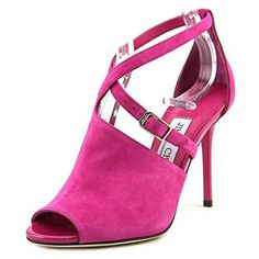 Jimmy Choo Leigh Pink Sandals . Available at http://www.Brandinia.com