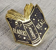 21 Book Pins For People Who Love To Read