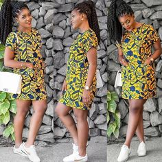 Ankara Xclusive: African Attire Dresses for Young Ladies - African Prints Ankara Short Gown Styles, Short African Dresses, Latest African Fashion Dresses, African Print Dresses, African Print Fashion, Africa Fashion, Fashion Prints, African Prints, Short Gowns
