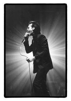Nick Cave by Alex Vanhee Red Right Hand, Music Pics, Music Stuff, The Bad Seed, Nick Cave, Some People Say, Post Punk, Rock Bands, Image