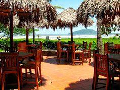 Restaurant   at Witch's ROck Surf Camp, Tamarindo Costa Rica