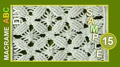Floral motifs - Flowers, ornaments, decorations for clothes or for something else that you like.. Macrame design elements for various useful macrame projects...