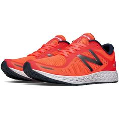 New Balance Fresh Foam Zante v2 Women's Soft and Cushioned Shoes ($100) ❤ liked on Polyvore featuring shoes, athletic shoes, cushioned shoes, padded running shoes, new balance athletic shoes, athletic running shoes and mesh athletic shoes