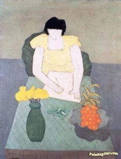 Girl Drawing Artwork by Milton Avery Hand-painted and Art Prints on canvas for…