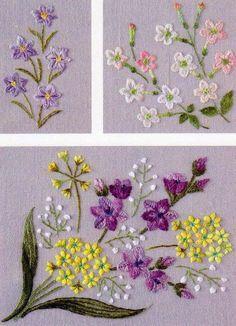 """Милые сердцу штучки: Вышивка шерстью: """"Цветы в моем саду"""""""