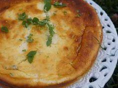Gâteau au Fromage Blanc à la Mélisse et au Citron