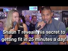 Beachbody Live! Coach Summit 2013 - Chat with Shaun T