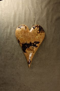Wood Heart Carving Personalized Wedding by TreeWizWoodCarvings, $110.00