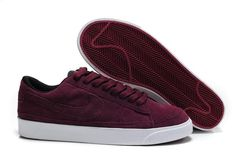 the latest 02271 dc8da Nike Mens Blazer Vintage Suede low 09 ND 371760-600 Burgundy! Only  71.10USD