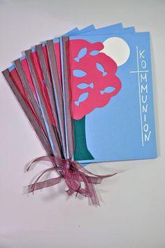 Einladungskarten - FISCHBaum 3D 6x Einladungen (43055474) - ein Designerstück von Lingschmetter bei DaWanda