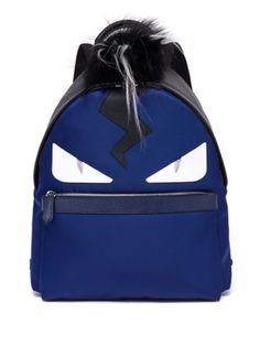 Fendi - Monster Fox, Kidassia & Calf Leather Backpack