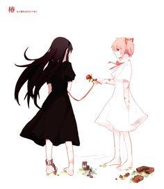 Madoka magika | Akemi Homura | Kaname Madoka