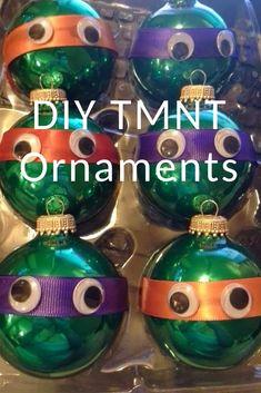 Teenage Mutant Ninja Turtles Christmas Ornaments