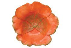 pansy poppy bowl