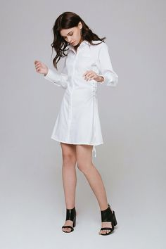 Affordable Fashion, White Dress, Shirts, Clothes, Dresses, Outfits, Vestidos, White Dress Outfit, Dress