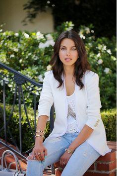 Cute white blazer