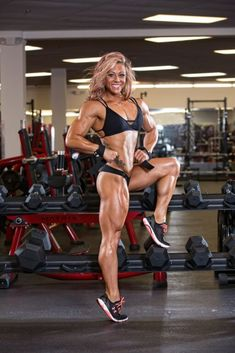 Lil Monstar (Dani Reardon) – Day In The Life video- One Week Out 2016 Arnold Classic
