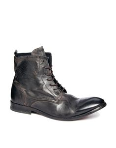 Enlarge H By Hudson Swathmore Lace-Up Boots