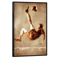 Football player illustration Football Players, Illustration, Sports, Poster, Painting, Art, New Looks, Great Gifts, Wall Prints