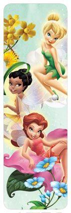 Tinkerbell & Fairy Friends - 3-D Bookmark