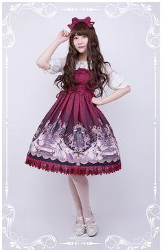 Resailan's Lolita -Hide and Seek- Lolita Jumper Dress Simple Version