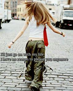 Avril Lavigne Let Go era