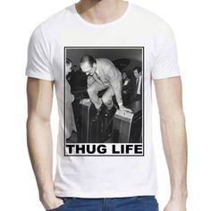 T-Shirt imprimé Jacques Chirac ref 706