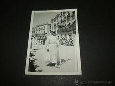 Fotografía antigua: MURCIA SEMANA SANTA PROCESION ANTIGUA FOTOGRAFIA AÑOS 40 - Foto 1 - 51244996