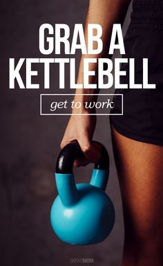 Total Body Workout - Grab your kettlebell for this full-body strength and cardio workout! #fitness #weightloss