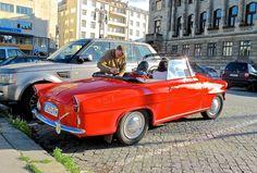 1962 Skoda Felicia in Prague top down Weird Cars, Felicia, Car Pictures, Prague, Vehicles, Top, Cars, Car, Crop Shirt