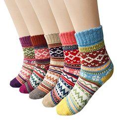 [$5.59 save 79%] Amazon #LightningDeal 74% claimed: Loritta Women's 5 Pairs Vintage Style Winter Knitting Warm W... #LavaHot http://www.lavahotdeals.com/us/cheap/amazon-lightningdeal-74-claimed-loritta-womens-5-pairs/171911?utm_source=pinterest&utm_medium=rss&utm_campaign=at_lavahotdealsus