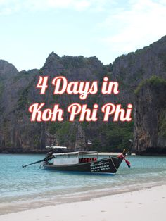 How to spend 4 days in Koh Phi Phi, Thailand | Twirl The Globe - Travel Blog