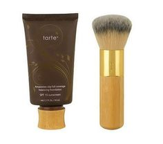 Tarte Amazonian Clay Full Coverage Foundation + brush, $38 on QVC...dying to try this!  heard so many great reviews!