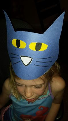 Pete the Cat Hat (from Teaching Heart Blog)
