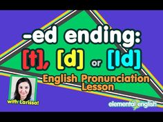 "[t], [d] or [Id]? | ""-ed"" Past Tense 